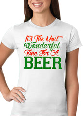 It's The Most Wonderful Time For A Beer Girls T-shirt