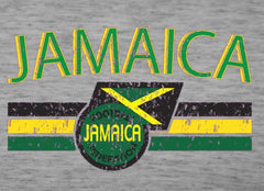 Jamaica Vintage Shield International Mens T-Shirt