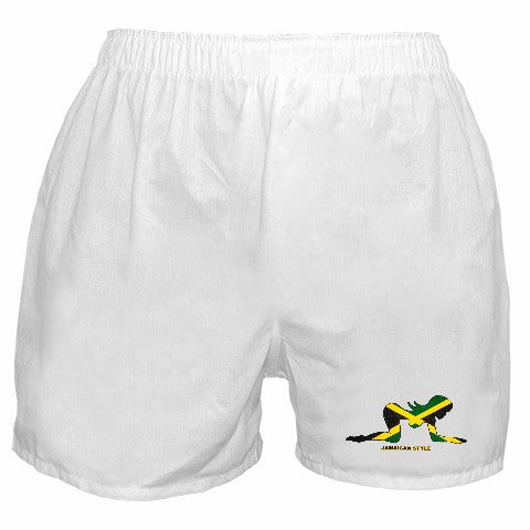 Jamaican Style Boxer Shorts