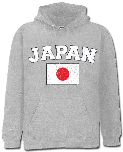 Japan Vintage Flag International Hoodie