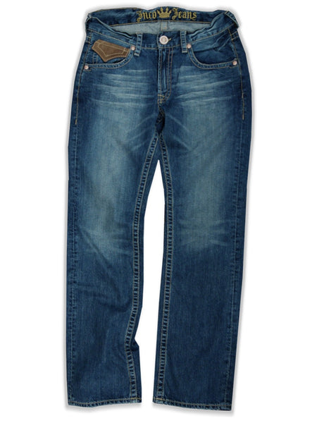 "JNCO Jeans - JNCO Leather Touch ""Hurricane"" Premium Denim Jeans"