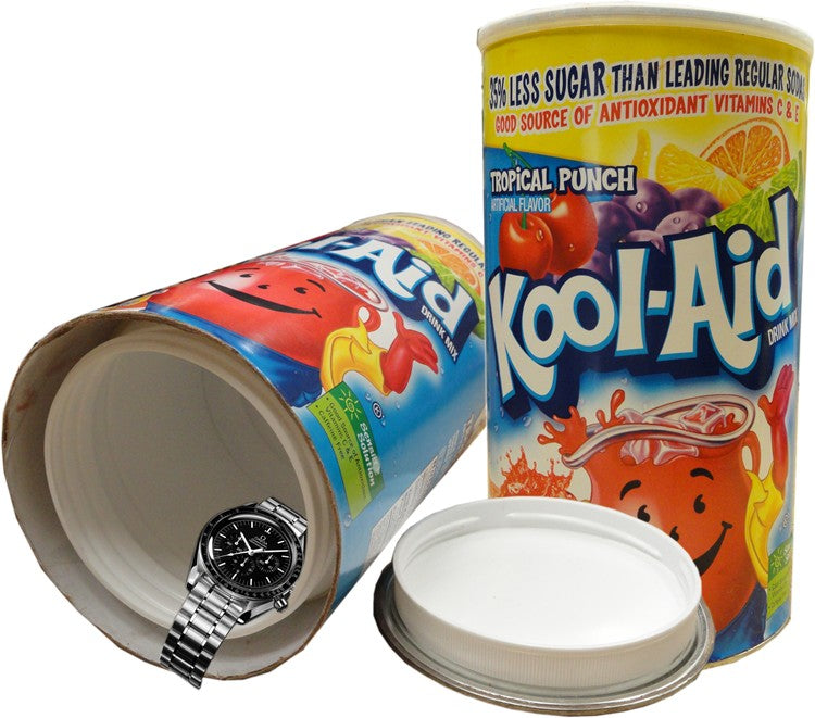 Jumbo Kool Aid Tropical Punch Diversion Safe