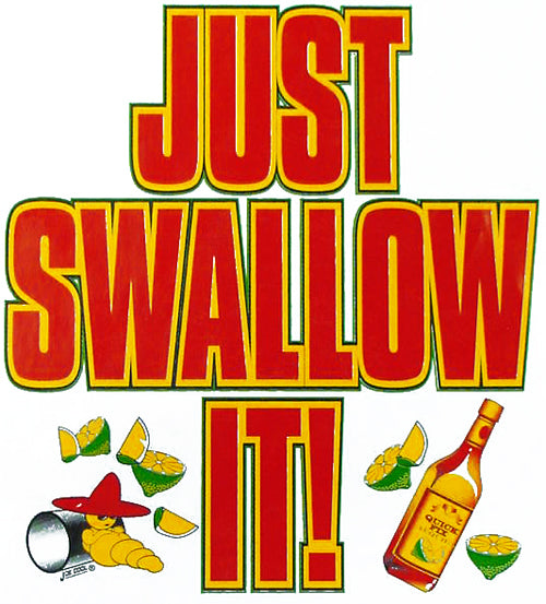 Just Swallow It Hoodie