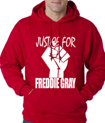 Justice For Freddy Gray Baltimore Protest Adult Hoodie