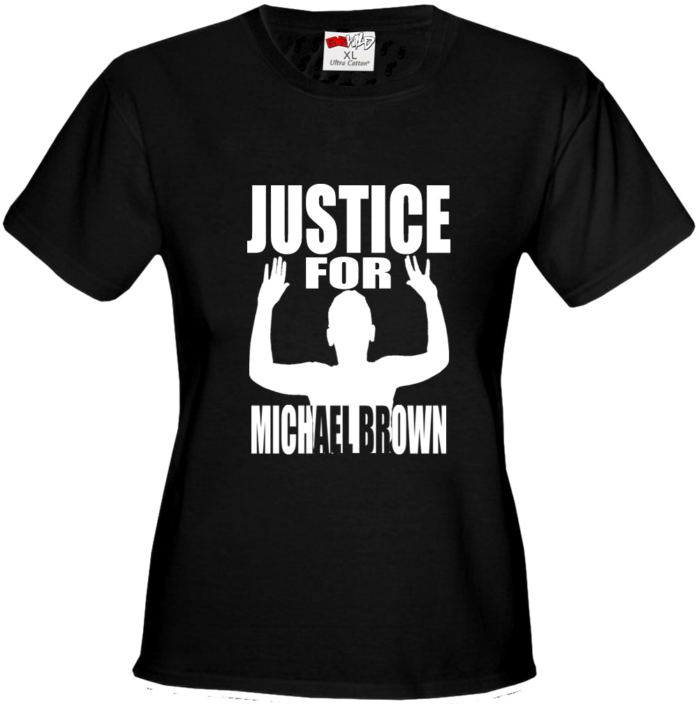 Justice For Michael Brown Girl's T-Shirt