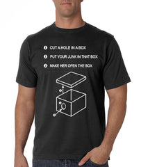 "Justin  ""Hole in a Box"" T-Shirt"