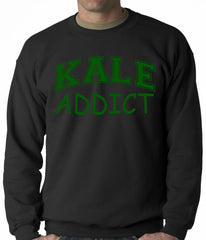Kale Addict Adult Crewneck