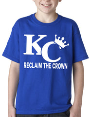 KC Reclaim The Crown Kids T-shirt