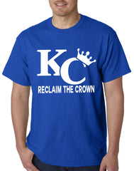 KC Reclaim The Crown Mens T-shirt