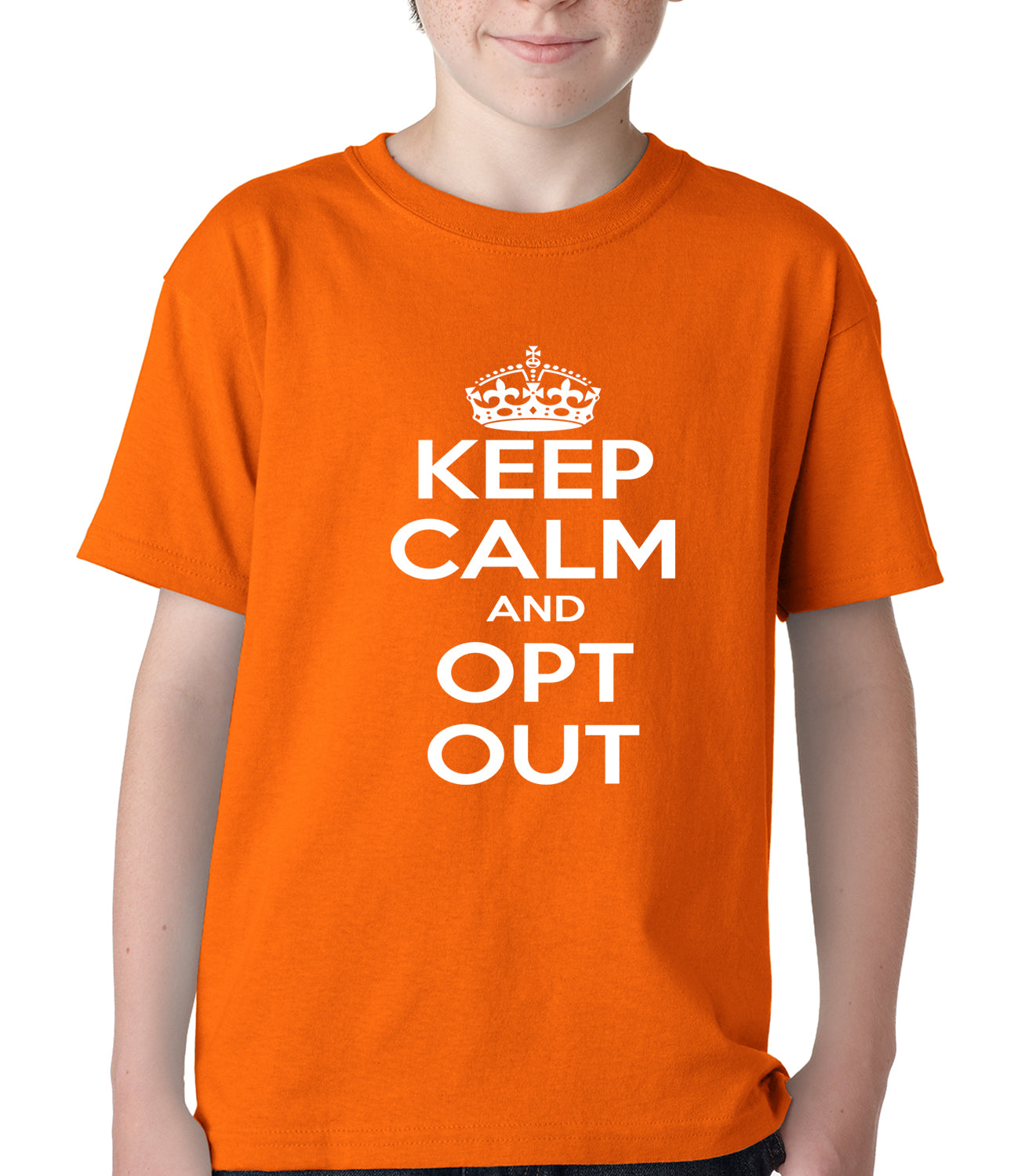 Keep Calm and Opt Out of Common Core Kids T-shirt