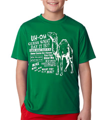Kids Camel Hump Day  T-Shirt