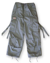 Kids Unisex Basic UFO Pants (Charcoal Grey)