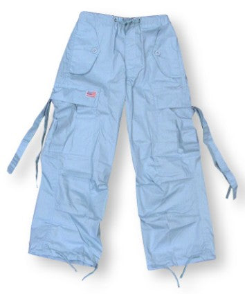 Kids Unisex Basic UFO Pants  (Light Blue)
