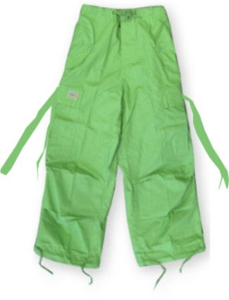 Kids Unisex Basic UFO Pants  (Limey Green)