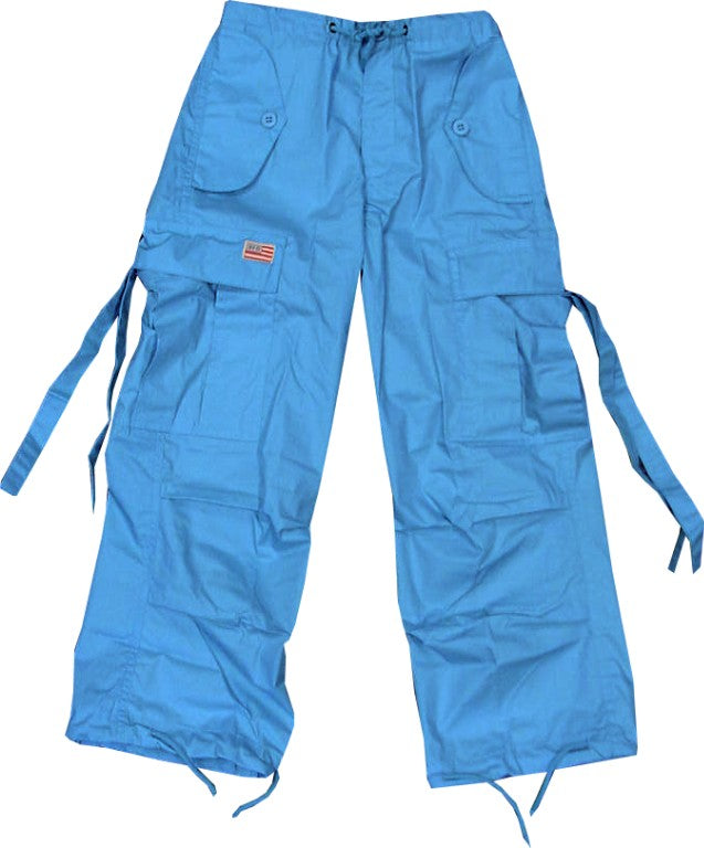 Kids Unisex Basic UFO Pants (Turquoise)