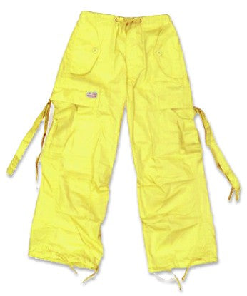 Kids Unisex Basic UFO Pants (Yellow)