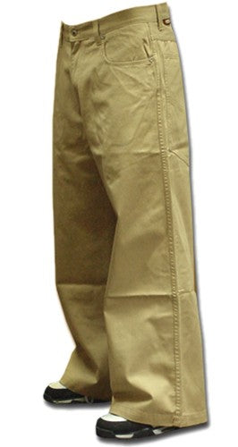 "Kikwear 26"" Soft Twill Khaki Pants"