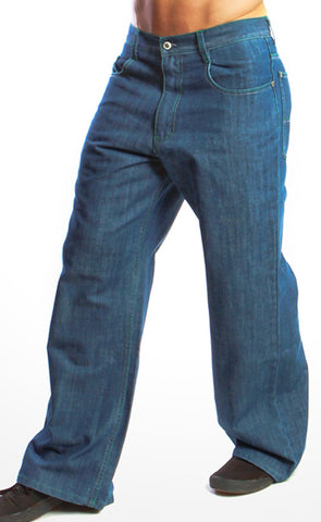 Kikwear Jeans - Kikwear Blue Denim Epik Chill Pant (23 Inch Bottom)