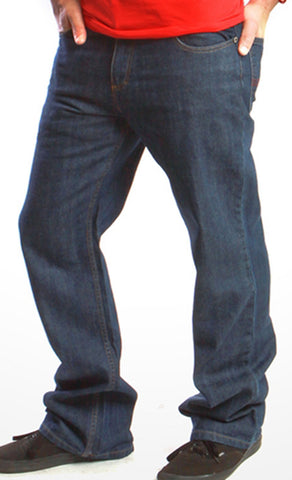 Kikwear Blue Denim Epik Chillax Pants (20 Inch Bottom)