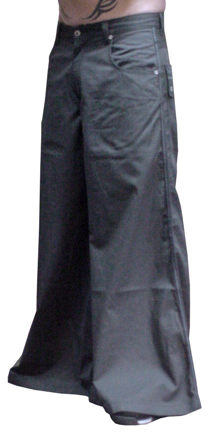 Kikwear Deluxe 42 Inch Bottom  Severe Twill Pants (Charcoal)