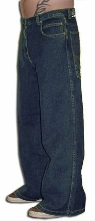 Kikwear Jeans - Kikwear Unisex 28'' Bottom Pants (Denim)