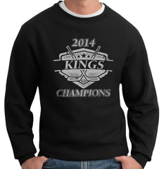 Kings Hockey 2014 Champions Champions Crewneck Sweatshirt