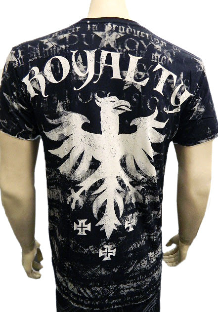Konflic Royalty T-Shirt  (Black)