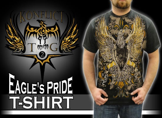 "Konflic Clothing ""Eagle's Pride"" T-Shirt"