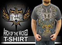 "Konflic Clothing ""Arch of the Wicked"" T-Shirt"