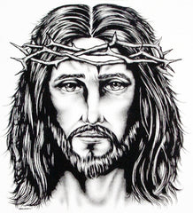 Large Jesus Crown Of Thorns T-Shirt