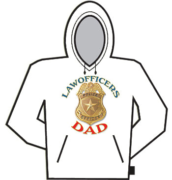 Law Officers Dad Hoodie