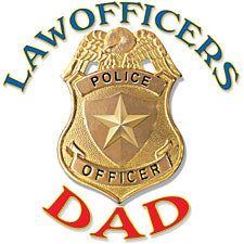 Law Officers Dad T-Shirt