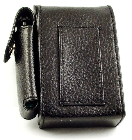Leather Deluxe Cigarette and Lighter Case Belt Pouch (For Regular Size Only)