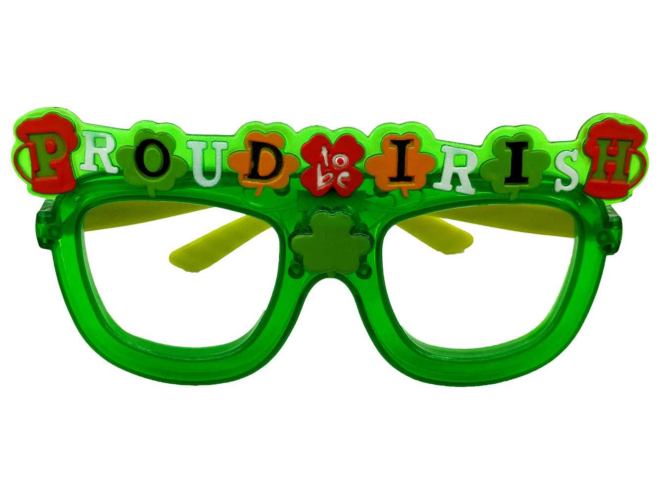 LED Irish St. Patrick's Day Glasses (Assorted)