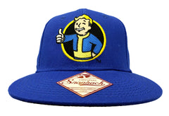 Limited Edtion Official Fallout 4 Vault Boy Snapback Hat (Royal Blue)