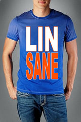 LINSANE Mens T-shirt, Lin-Sane, Jeremy Lin Sayings Men's Tee Shirt