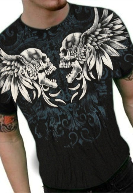 "Liquid Blue ""Feathered Fury"" T-Shirt"