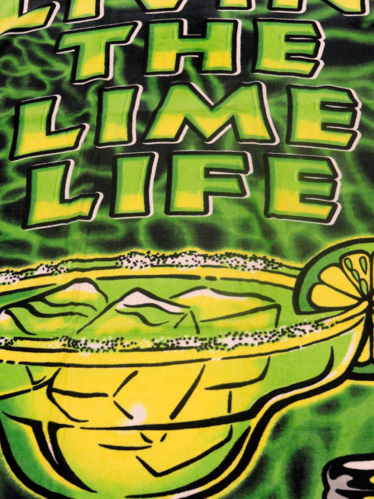 "Livin' The Lime Life Beach & Bath Towel (30"" x 60"")"