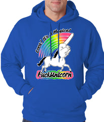 Look It's A Magical F*ckunicorn Funny Adult Hoodie