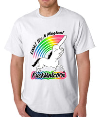 Look It's A Magical F*ckunicorn Funny Mens T-shirt