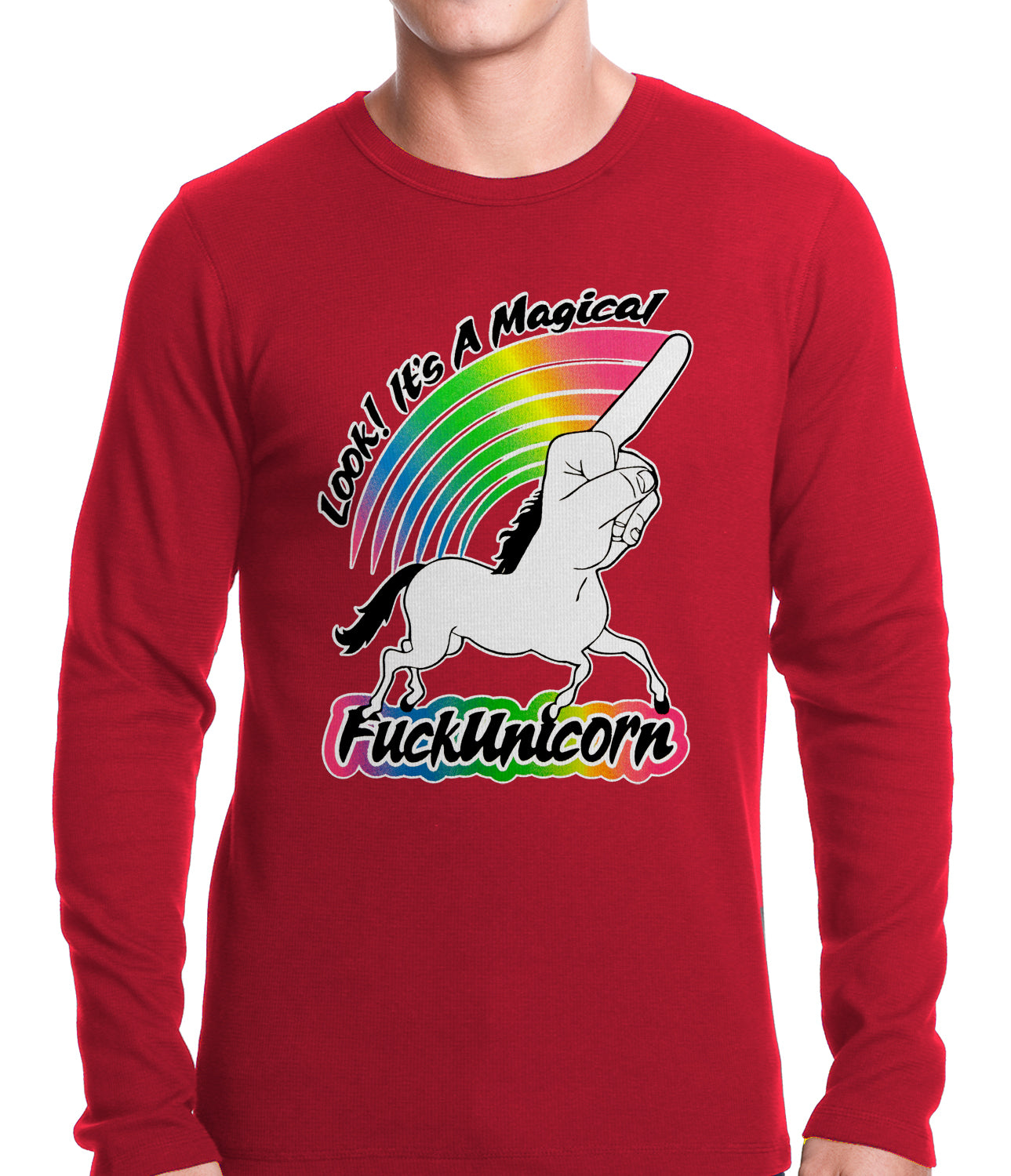 Look It's A Magical F*ckunicorn Funny Thermal Shirt