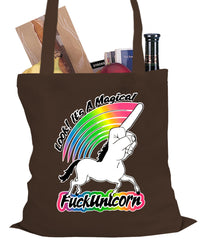 Look It's A Magical F*ckunicorn Funny Tote Bag