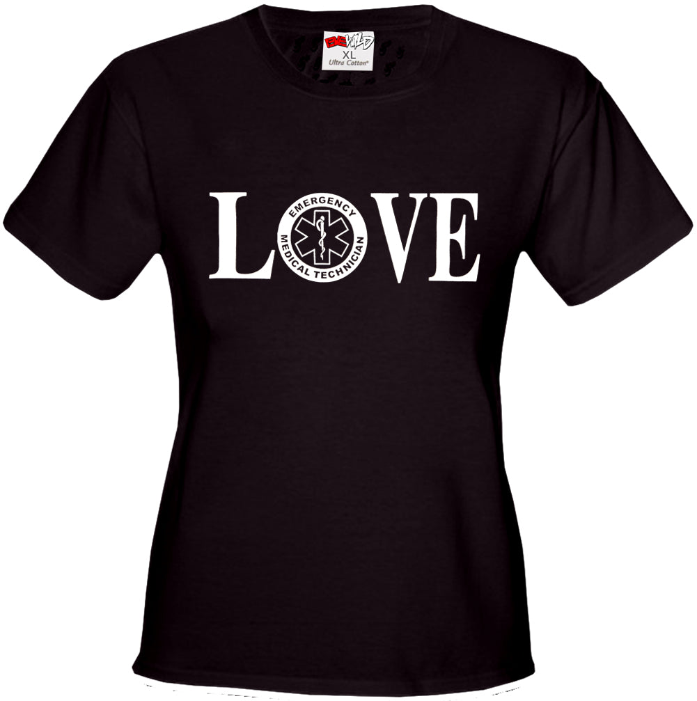 LOVE EMT Girl's T-Shirt