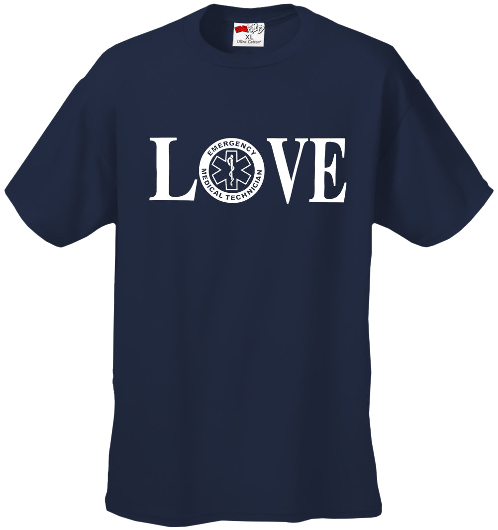 LOVE EMT Men's T-Shirt