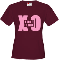 Love It Like XO Girls T-shirt