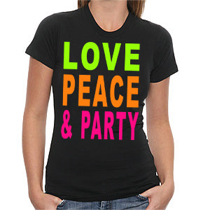 Love, Peace & Party Girls T-Shirt