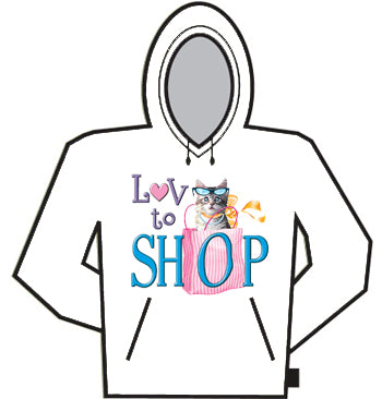 Love To Shop Hoodie
