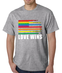 Love Wins - Gay Marriage Equality Mens T-shirt
