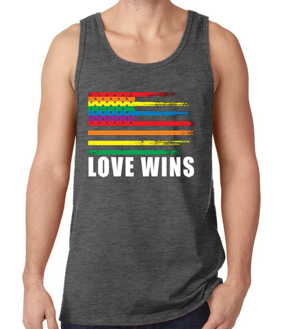 Love Wins - Gay Marriage Equality Tank Top