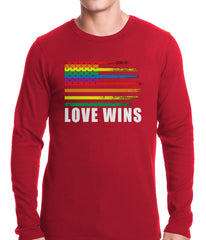 Love Wins - Gay Marriage Equality Thermal Shirt